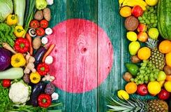 新鲜的水果和蔬菜从孟加拉国 免版税图库摄影