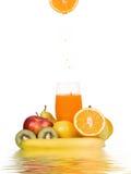 新鲜的汁液 免版税库存照片