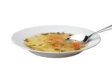 新鲜的汤 免版税图库摄影