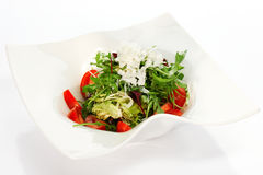 新鲜的沙拉蔬菜 免版税库存照片