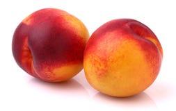 新鲜的油桃 图库摄影