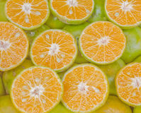 新鲜的泰国甜橙 免版税库存图片