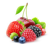 新鲜的浆果 库存图片