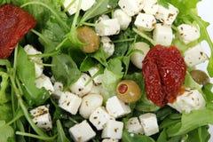 新鲜的混合沙拉 免版税库存照片