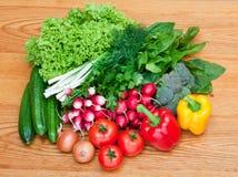 新鲜的混合蔬菜 免版税图库摄影
