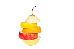 新鲜的混杂的果子 免版税图库摄影