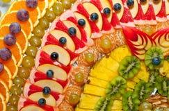 新鲜的混杂的果子 库存图片