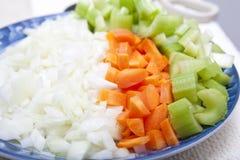 新鲜的混杂的蔬菜 库存照片