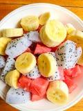 新鲜的热带水果 免版税库存图片