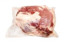 新鲜的熟悉内情的肉猪肉 免版税库存照片