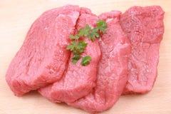 新鲜的牛肉 图库摄影