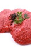 新鲜的牛肉 免版税库存图片