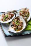 新鲜的牡蛎 免版税库存图片