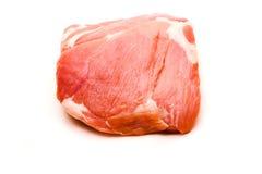 新鲜的猪肉肩甲骨 库存图片