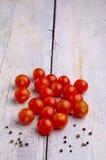 新鲜的甜蕃茄 免版税图库摄影