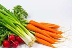 新鲜的生物菜 免版税库存照片