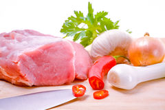 新鲜的生肉 免版税库存图片