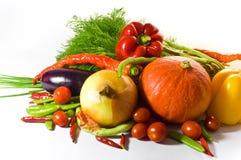 新鲜的种类蔬菜 免版税库存图片