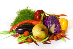 新鲜的种类蔬菜 库存图片