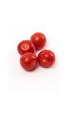 新鲜的红色chery蕃茄 免版税库存图片