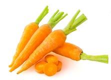 新鲜的红萝卜 免版税库存照片