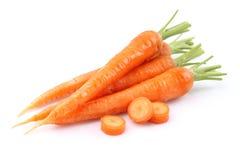 新鲜的红萝卜 库存照片