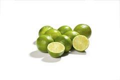 新鲜的绿色石灰 免版税库存照片