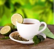 新鲜的茶 库存图片