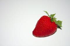 新鲜的草莓甜点 库存照片