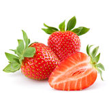 新鲜的草莓 免版税图库摄影