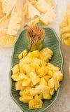 新鲜的菠萝 库存图片
