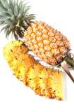 新鲜的菠萝 库存照片