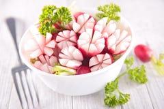 新鲜的萝卜开胃菜 库存照片