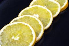 新鲜的葡萄柚圆环  免版税库存图片
