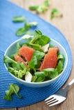 新鲜的葡萄柚沙拉 免版税库存图片