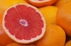 新鲜的葡萄柚 西班牙 巴伦西亚 免版税库存照片
