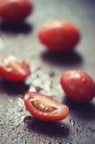 新鲜的葡萄蕃茄 库存图片