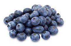 新鲜的蓝莓堆 库存图片