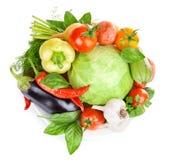 新鲜的蔬菜叶 免版税库存图片