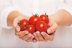 新鲜的蕃茄作为抗氧剂 库存图片