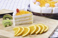 新鲜的蛋糕 库存图片