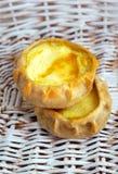 新鲜的被烘烤的传统饼用土豆 库存照片