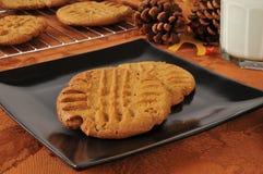 新鲜的被烘烤的假日曲奇饼 库存图片