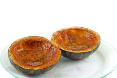 新鲜的被烘烤的南瓜 库存图片