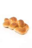 新鲜的被烘烤的小圆面包芝麻 免版税图库摄影