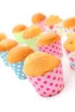 新鲜的被烘烤的杯形蛋糕 免版税库存图片