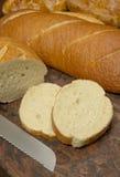 新鲜的被烘烤的面包 图库摄影