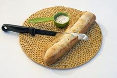 新鲜的被烘烤的面包 库存照片