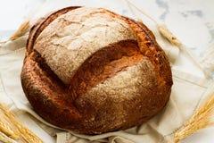 新鲜的被烘烤的面包 库存图片