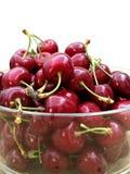 新鲜的被采摘的樱桃 图库摄影